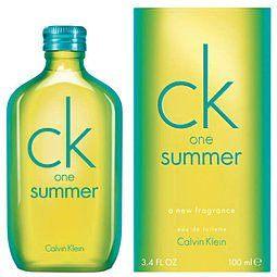 香水1986☆CalvinKleinCKOneSummer2014夏日限量版淡香水5ML香水分裝瓶