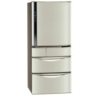 【國際牌Panasonic】ECONAVI 560L變頻五門冰箱。香檳金/(NR-E567MV/NR-E567MV-L)