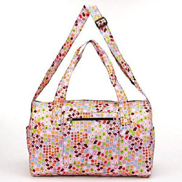 【預購】摺疊收納旅行袋- 粉紅 - 限時優惠好康折扣