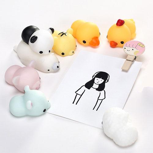 日系卡通動物創意減壓球解壓玩具發洩舒壓捏捏樂