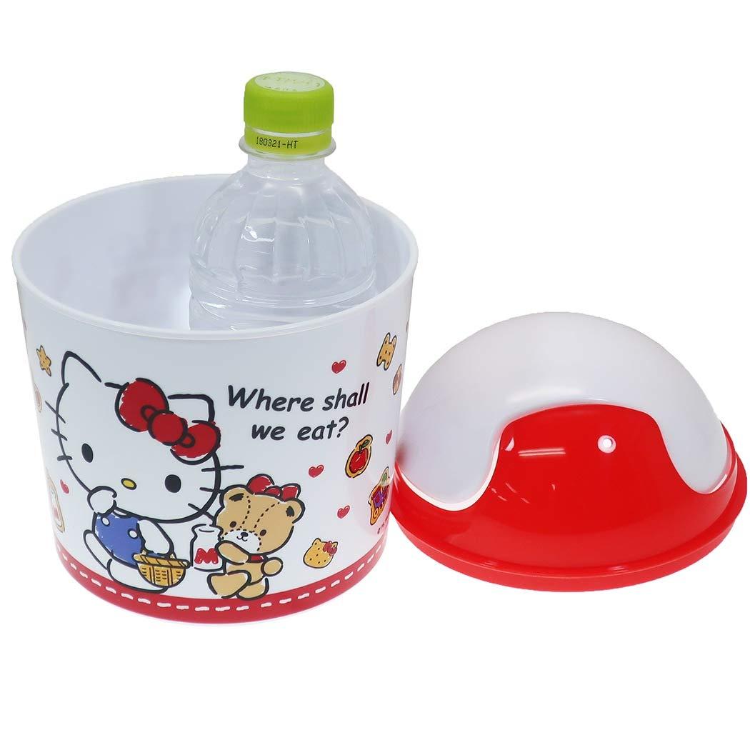 Hello Kitty 桌上型垃圾桶,垃圾筒/雜物桶/水桶/分類桶/資源回收桶/廚餘桶,X射線【C488260】