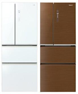 Panasonic 國際牌 NR-D508NHG 全平面玻璃無邊框變頻四門冰箱(500L)★指定區域配送安裝★
