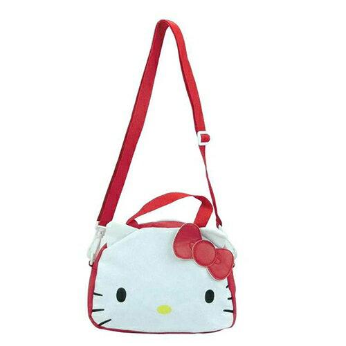 【現貨+預購】手提包kitty復古帆布兩用包側背包斜背包兒童背包