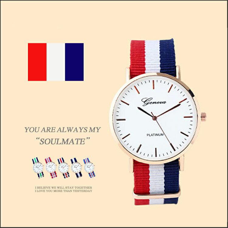 學生錶 手錶 情侶錶 帆布錶 英倫錶 歐洲學院風 【FA0009】British style