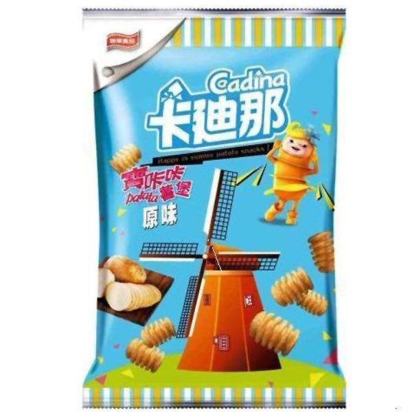 聯華 卡迪那 寶咔咔(薯堡)原味 33g【康鄰超市】