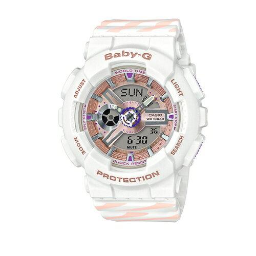 CASIOBABY-G潮流尖端雙顯運動腕錶BA-110CH-7ADR