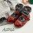 AppleNana。親子鞋。小公主全真皮菱格紋車線小紅鞋【QTBC70451080】蘋果奈奈 3