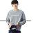 ◆快速出貨◆刷毛T恤 圓領刷毛 情侶T恤 暖暖刷毛 MIT台灣製.圓領someone【YS0434】可單買.艾咪E舖 1