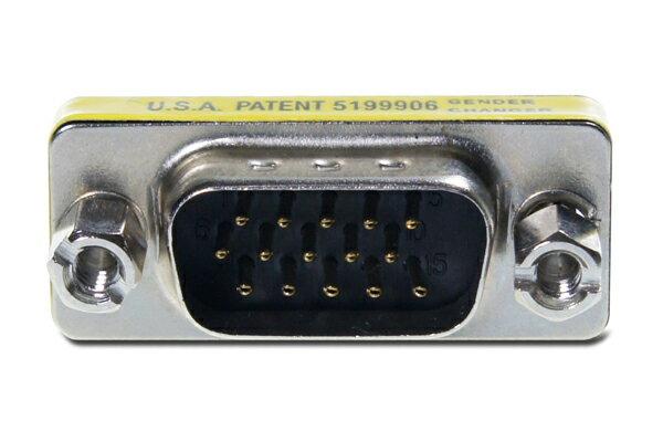 AviewS-VGA / 180度轉接頭 / 公對公頭轉接頭 0