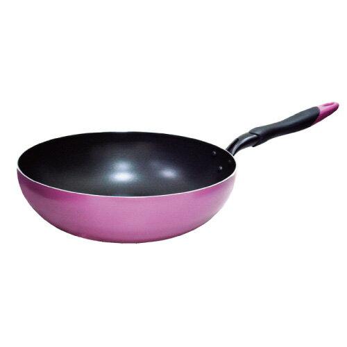 鍋寶 品味歐式不沾小炒鍋30CM(無盒蓋) IKH-10530-1-C - 限時優惠好康折扣