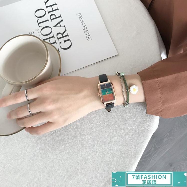 手錶德國小眾手錶女ins風簡約氣質學生小巧精致高級感女錶2021年新款 7號Fashion家居館