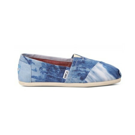 【TOMS】水洗牛仔帆布休閒鞋  Blue Tie-dyed Women's Classics 2