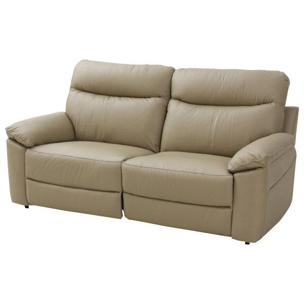 ◎(OUTLET)半皮3人用沙發 JADE MO 福利品 NITORI宜得利家居 1