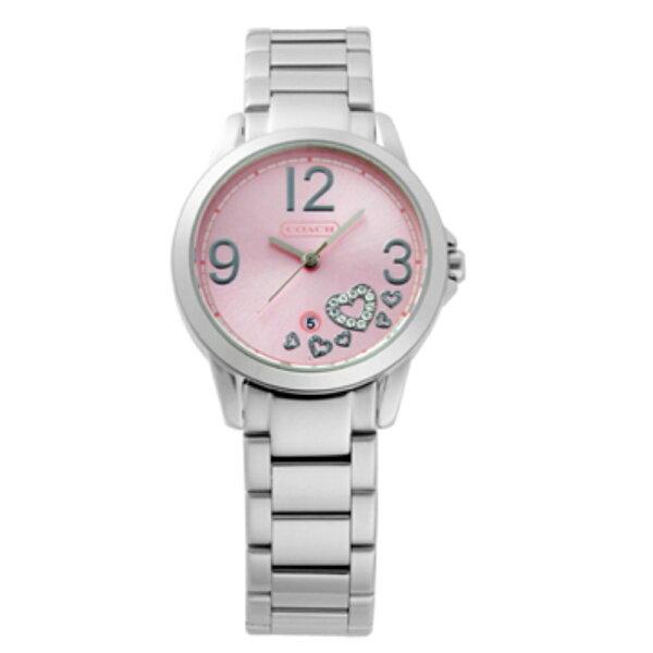 COACH青春洋溢活力奔放時尚女鍊帶錶