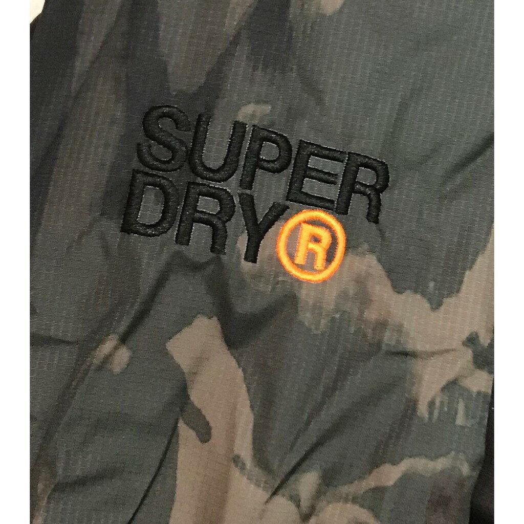 Superdry 極度乾燥外套 男款 內刷毛三拉鍊連帽夾克 防風防潑水 3色 英國正品現貨 9