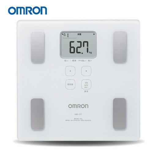 OMRON歐姆龍體重體組成計HBF-217(粉紅色)體脂肪計 體脂計 體重體脂計  體脂體重計HBF217