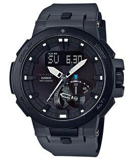 CASIOPROTREKPRW-7000-8高階登山雙顯太陽能電波腕錶52mm