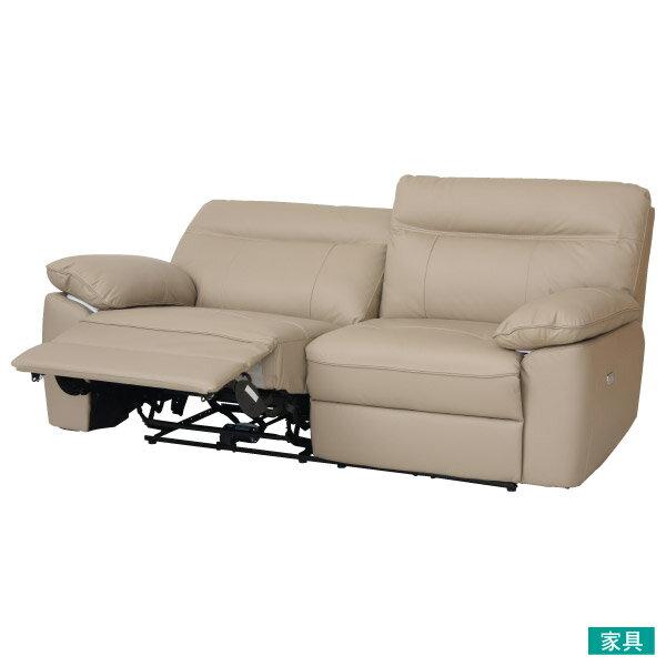 ◎半皮3人用電動可躺式沙發 STONE MO NITORI宜得利家居 0