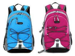 【H.Y SPORT】FREEKNIGHT休閒女用/兒童背包/兒童登山包 玫紅/藍 15L 兩件組(免運)