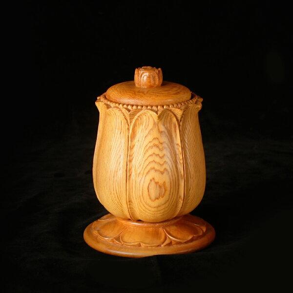 MU Life:檜木手工雕刻供水杯(大)