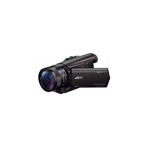 "Sony Handycam FDR-AX100 Digital Camcorder - 3.5"" - Touchscreen LCD - CMOS - 4K - Black - 16:9 - 20 Megapixel Image - 14.2 Megapixel Video - MP4, AVCHD, XAVC S, MPEG-4, H.264/MPEG-4 AVC - 12x Optical Zoom - 160x Digital Zoom - Optical (IS) - Speaker, Micro 1"