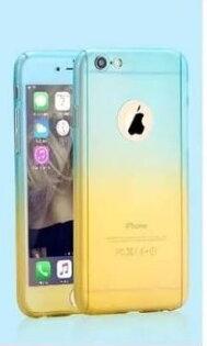 現貨APPLEIPHONE6PLUS6SPLUS5.5吋全包漸變色手機硬殼保護殼手機殼IP6+IP6S+