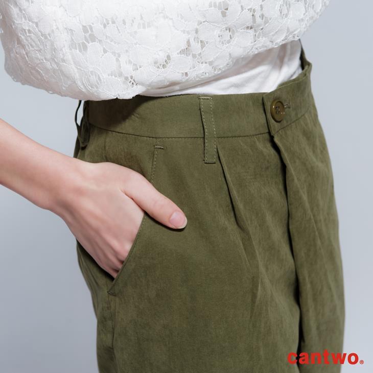 cantwo寬口九分褲(共二色) 4