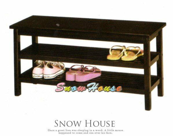 ╭☆雪之屋居家生活館☆╯AA577-05AR-940田園實木穿鞋椅鞋櫃鞋架收納櫃置物架玄關椅DIY自組