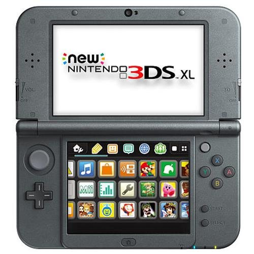 Nintendo New 3DS XL Handheld Video Game Console System - Black 1