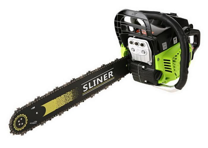 59CC Petrol Chainsaw Cutting Wood Gas Chain Saw 3.4HP Engine 2.0KW Chain and Cover Tool Kit 1