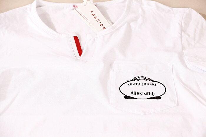 【CS衣舖 】韓系 合身版 萊卡彈力 短袖T恤 3204 6