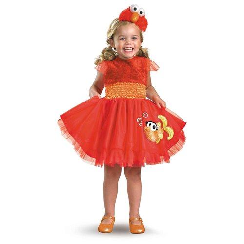 Sesame Street Frilly Elmo Toddler/Child Costume 0