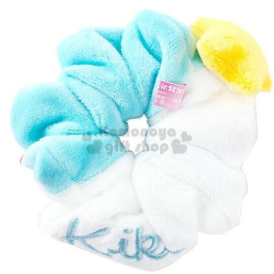 〔小禮堂〕雙子星 絨毛造型髮圈《白藍.KIKI.立體星星》也可當可愛手環 0