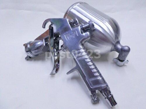 【小工人】專業牌W-71G上壺式400CC 油漆噴槍 1.5mm風動噴槍 氣動噴漆槍 氣動噴槍