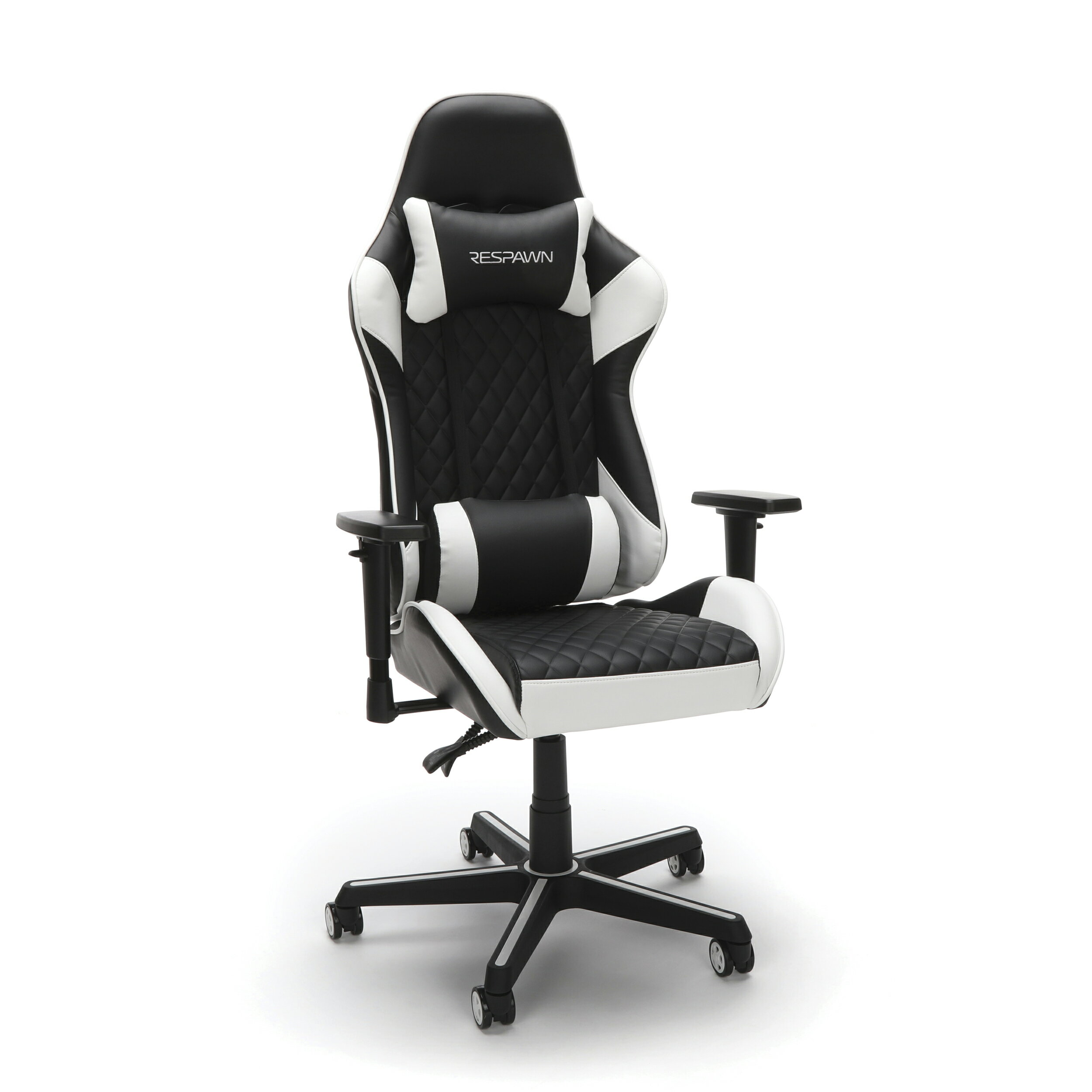 Wondrous Respawn 100 Racing Style Gaming Chair Reclining Ergonomic Leather Chair Office Or Gaming Chair White Rsp 100 Uwap Interior Chair Design Uwaporg