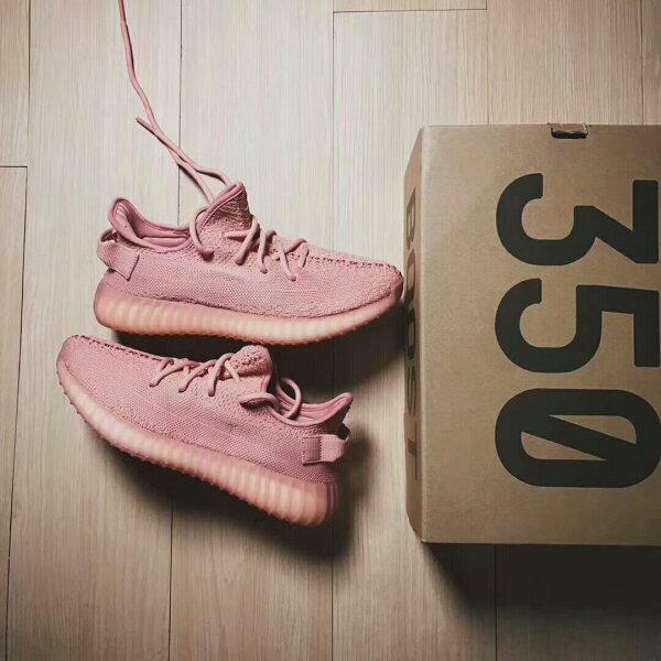 AdidasYeezyBoost350V2粉色女款