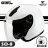 SOL安全帽|SO-8 素色 白 SO8 通勤 搭配27Y情侶帽 半罩帽 耀瑪騎士機車部品 0