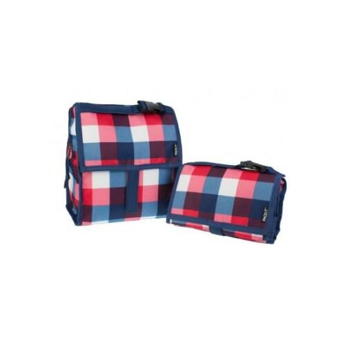 ★衛立兒生活館★美國 Packit冰袋 行動式摺疊冰箱(M)-英倫方格