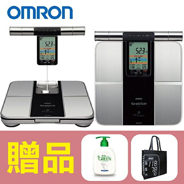 【歐姆龍OMRON】體重體脂計HBF-701,贈品:GREEN潔手乳x1+提袋x1