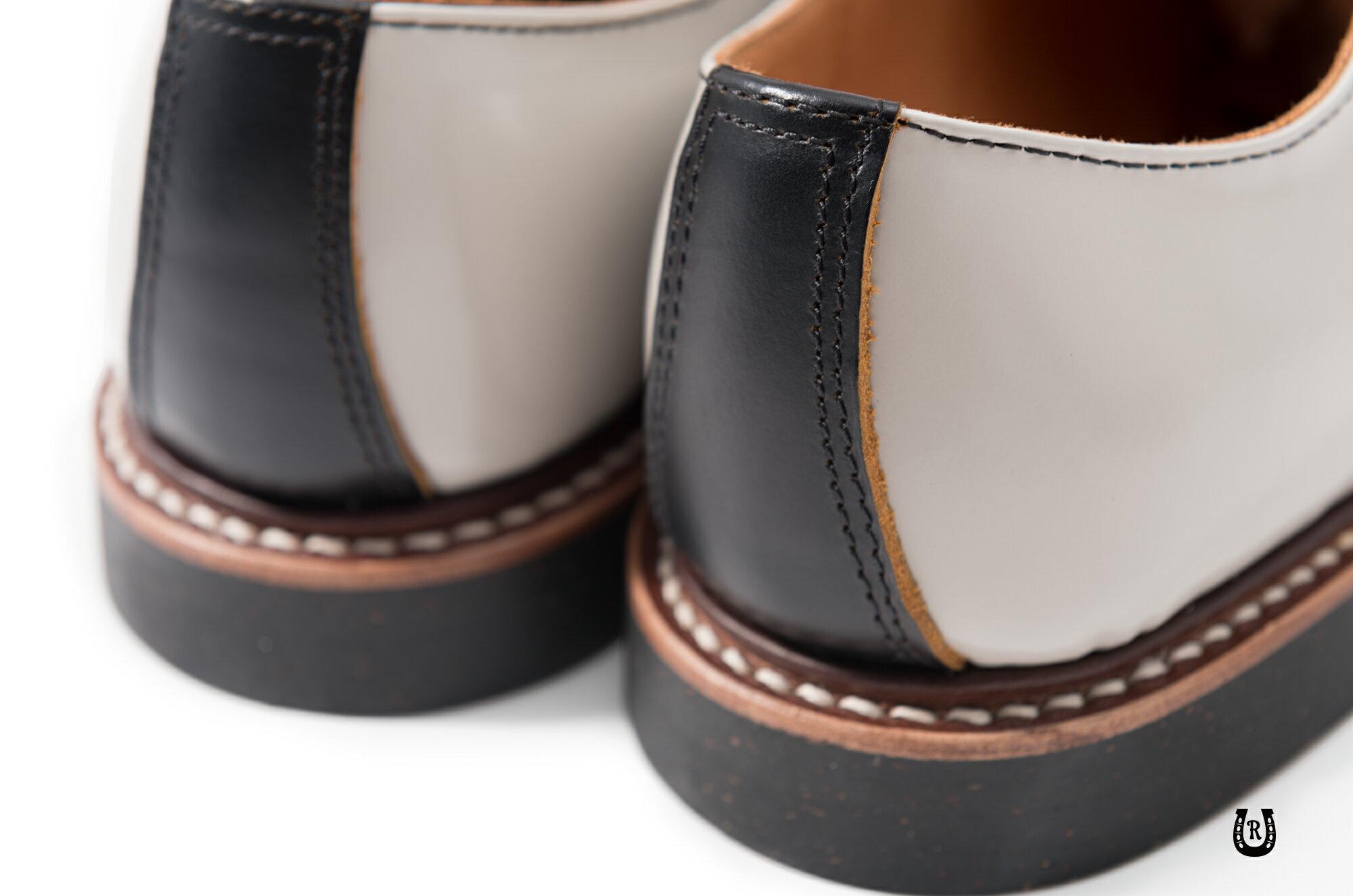 【預購八折】Retrodandy Saddle shoes 經典復古工作皮鞋 日廠Goodyear固特異手工製鞋法 7