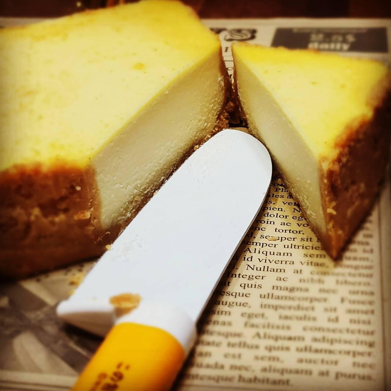 [糕中生三年一班] 原味重乳酪 正方型14.5cm  原味 甜點 下午茶 點心 蛋糕