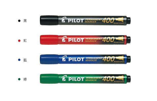 【文具通】PILOT 百樂 SCA-400 400型 麥克筆 平頭 1.00mm 酒精性 A1050523