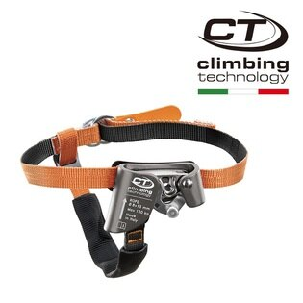 CTClimbingTechnology左腳上昇器足部上升器腳部夾繩器輔助攀升器2D654SQUICKSTEP-S