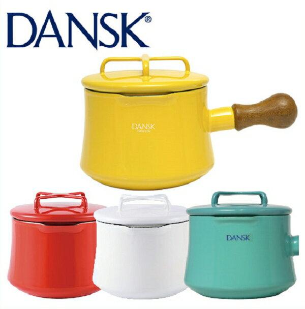 日本必買 免運/代購-1000ml/丹麥DANSK琺瑯材質牛奶鍋附蓋/片手鍋/Saucepan-1QT。共4色