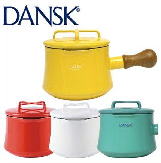 天天加碼15倍點數。1點1元,3300元內等值85折。日本直送 含運/代購-1000ml/丹麥DANSK琺瑯材質牛奶鍋附蓋/片手鍋/Saucepan-1QT。共4色