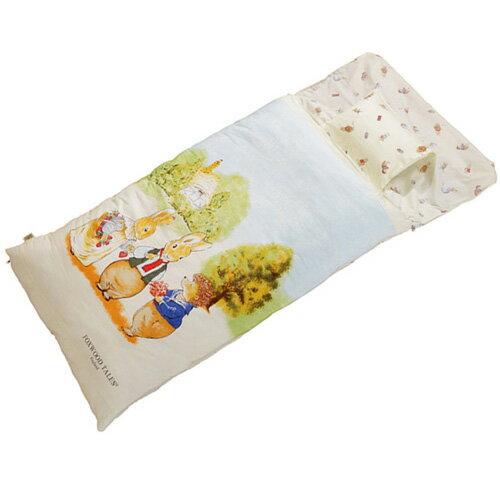 『121婦嬰用品館』狐狸村 精梳棉冬夏兩用幼教睡袋 - 米 0