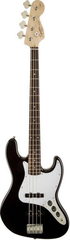 Fender Squier STD Jazz Bass BKM(黑色)