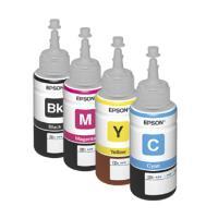 【台灣耗材EPSON㊣原廠填充墨水單瓶70ccT664100黑色T664200藍色T664300紅色T664400黃色單瓶顏色任選.適用機型適用機型:L100L110L120L200L210L300L350L355L550L555L1300L1800印表機DIY填充墨水.連續供墨
