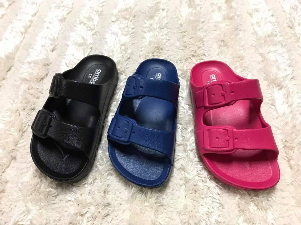 【Jolove】Arriba艾樂跑童鞋/防水防滑超輕量拖鞋/勃肯拖鞋6269