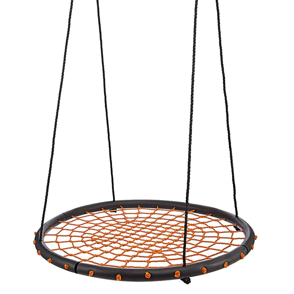 Mirage Giant Tree Swing 40 Round Net Swing With Adjustable Rope